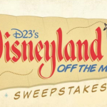 D23 Announces Disneyland Off the Map Sweepstakes