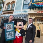 Disney Legend Tony Baxter Honored with a Window on Disneyland's Main Street U.S.A.