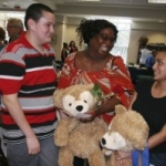Duffy the Disney Bear Brings Smiles to Families on National Adoption Day