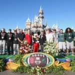 Rose Bowl Teams Stanford and Michigan State Make Appearance at Disneyland Resort
