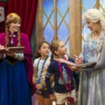 Anna and Elsa from Disney's Frozen to Meet Guests at Princess Fairytale Hall Beginning April 20