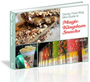 The Disney Food Blog Announces the Release of the 'DFB Guide to Magic Kingdom Snacks' e-Book