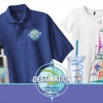 Get a Sneak Peek at the Destination D: Attraction Rewind Merchandise