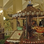 Celebrate the Holidays with Walt Disney World Resort Gingerbread Displays