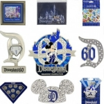Disney Gives Fans a Peek at the Disneyland Resort Diamond Celebration Pins