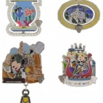 New Releases for Disneyland Diamond Celebration Pins