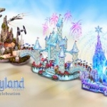 Disneyland Diamond Celebration Represented with Float in 2016 Rose Parade