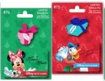 New Disney Gift Card Holiday Pin Series Launches at Disney Parks