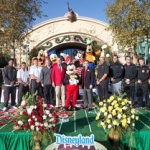 Disneyland Resort Welcomes Iowa and Stanford Players Prior to Rose Bowl