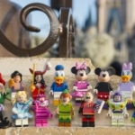 LEGO Minifigures Featuring Disney Characters Arriving at Disney Parks in May