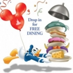 Free Dining Announced for Travel Dates this Fall at Walt Disney World
