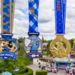 runDisney Gives Sneak Peek at Inaugural Disneyland Paris Half Marathon Finisher Medals