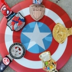 Finisher Medals Revealed for the Super Heroes Half Marathon Weekend at Disneyland