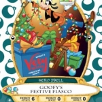 New Goofy Holiday Card Available at Mickey's Very Merry Christmas Party at the Magic Kingdom