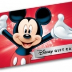 Disney Gift Card eCards Now Availalbe
