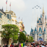 US Navy's Blue Angels to Fly Over Magic Kingdom this Thursday
