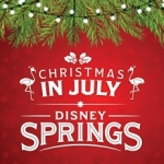 Celebrate Christmas in July at Disney Springs this Month