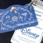 New Disney Gift Card Designs Debut at the 2017 Epcot Food and Wine Festival