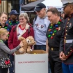 Guests Can Donate to Toys for Tots at Disneyland's Downtown Disney District