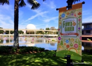 Menus Announced for the 2019 Epcot Flower and Garden Festival