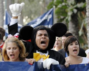 Disneyland Hotel Workers Union Strike