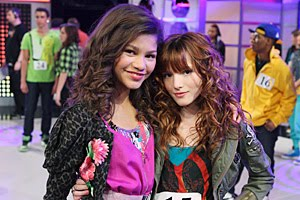 Zendaya Coleman and Bella Thorne    Shake it Up    for Disney ChannelZendaya And Bella Thorne Shake It Up