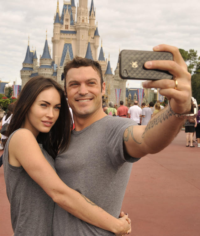 Megan Fox Married To Brian Austin Green. Husband/wife Brian Austin