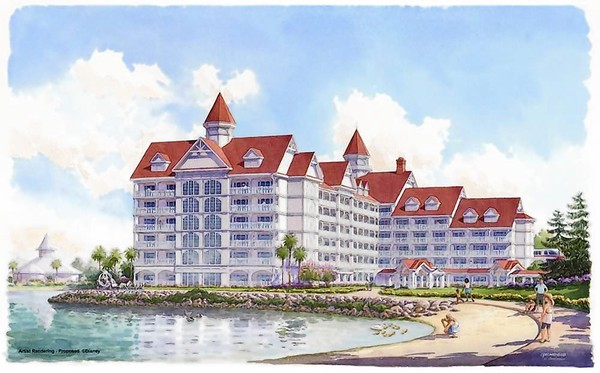 Artist S Rendering Of New Disney Vacation Club Resort At Grand Floridian And Spa