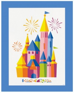 2014 disney parks artwork