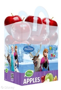 frozen apples