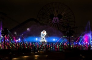 world of color olaf