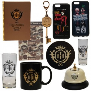 hollywood tower merch