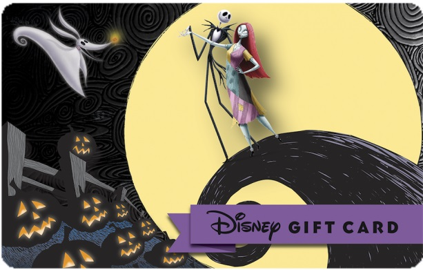 Halloween-Themed Disney Gift Cards Available at the Disney Parks ...
