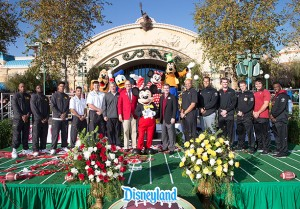 disneyland rose bowl