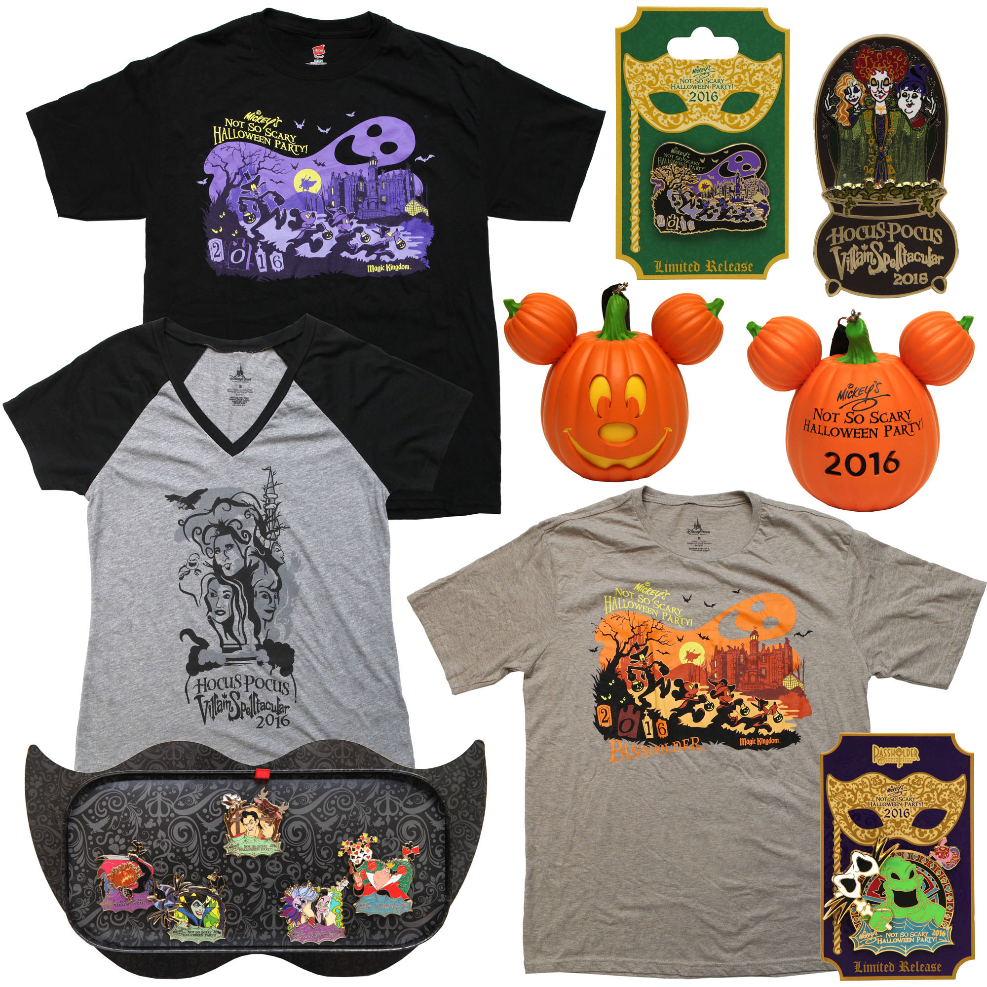 Disney Unboxes the Merchandise for Mickey's Not-So-Scary Halloween ...