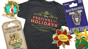 dland holiday merch