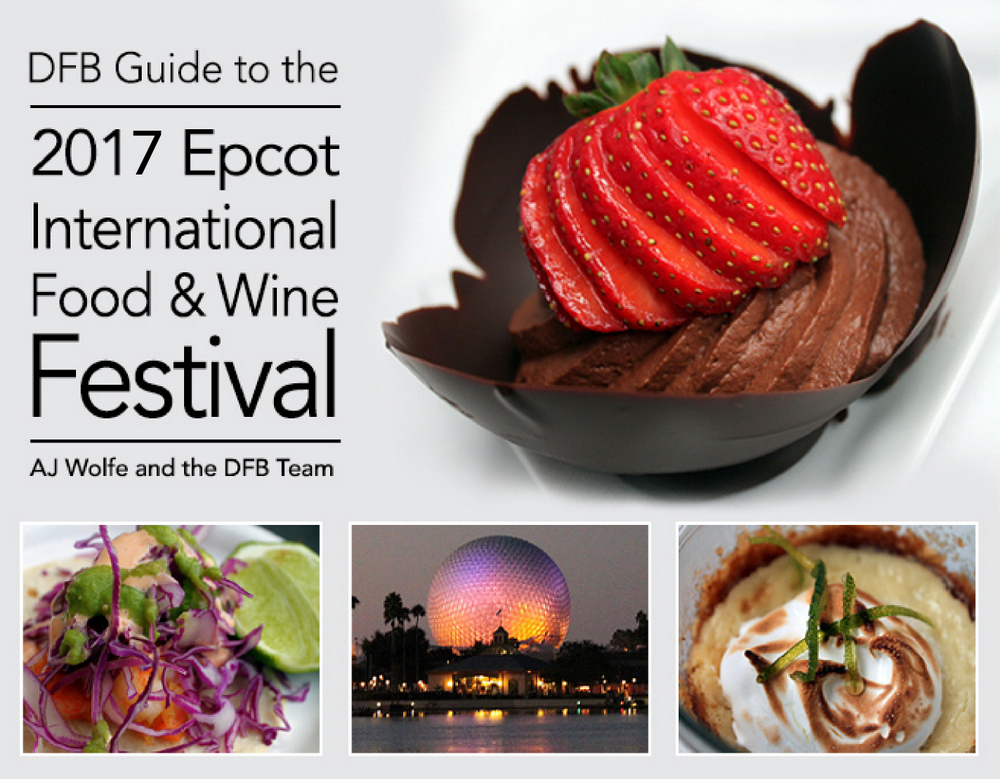 Disney food blog announces dfb guide to the 2017 epcot for Cuisine good food guide 2017