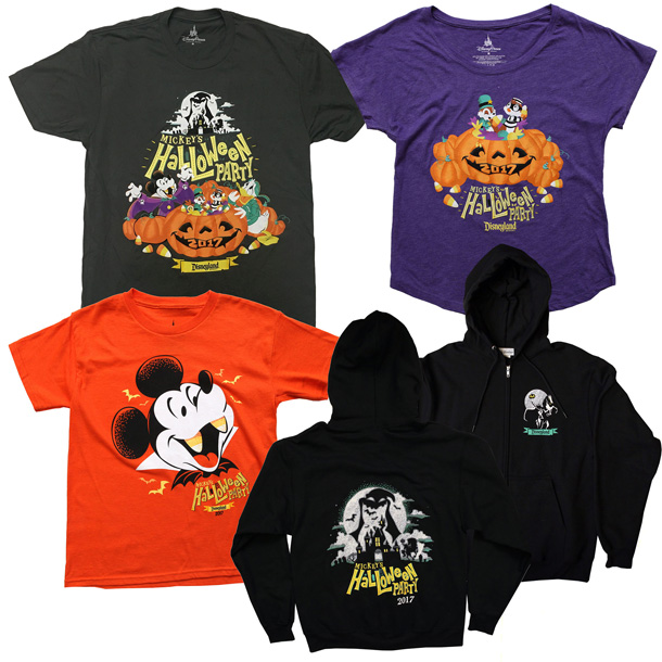 Disney Reveals Merchandise for Mickey's Halloween Party at ...