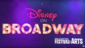 disney on bway