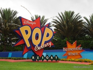 pop entrance sign