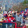 New York Giants Quarterback and Super Bowl MVP Eli Manning Visits Walt Disney World