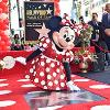 Minnie Mouse Receives a Star on the Hollywood Walk of Fame