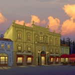 Epcot Italy Pizzeria and Cantina de San Angel Concept Art Released