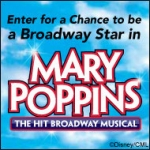 Win A Walk-On Role in Mary Poppins on Broadway