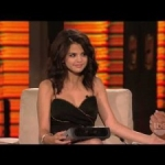 "Selena Gomez Does ""Silent"" Interview On ""Lopez Tonight"""