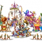 Concept Art for Mickey's Soundsational Parade, Debuting 2011
