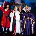 """""""Glee"""" Star Spends Time with Wicked Disney Villains at the Disneyland Resort"""