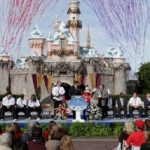 Rose Bowl Contenders Spend Day at Disneyland