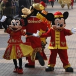 Good Fortune For All during the Chinese New Year at Hong Kong Disneyland