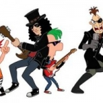 Phineas and Ferb Music Video 'Kick It Up A Notch' Debuts, Featuring Slash